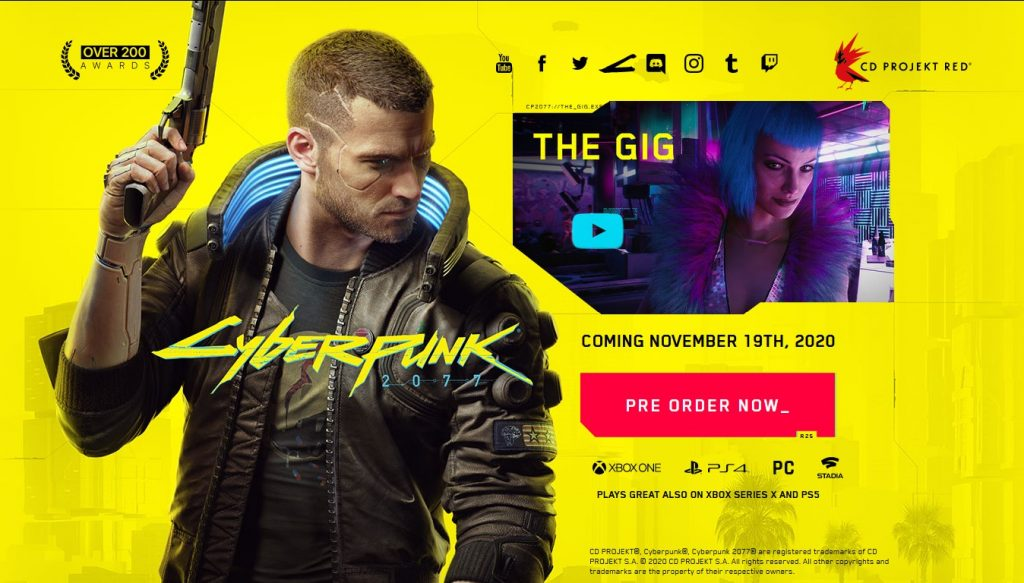 Cyberpunk 2077′ Bonus Package
