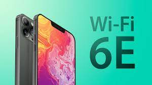iPhone 13 with in WiFi-6E  technology now available