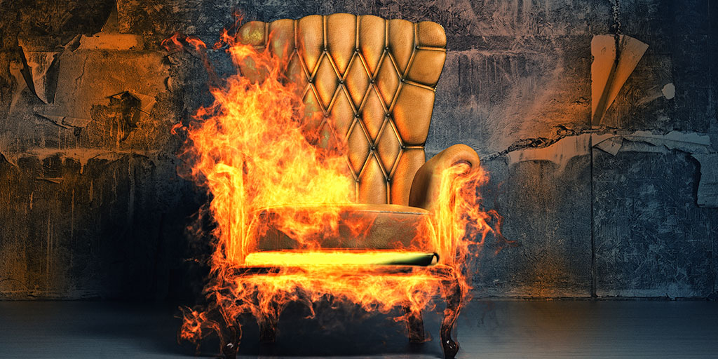 How fire-resistant fabric resists fire?