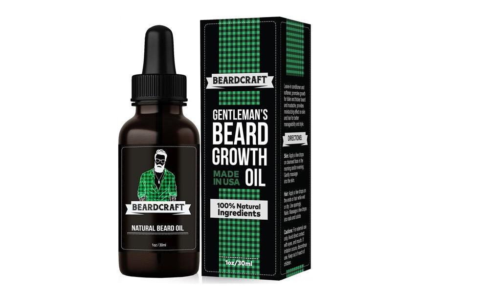 Beard Oil Boxes